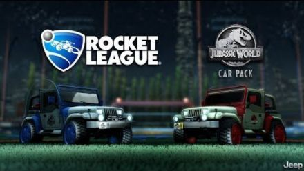 Rocket League - Jurassic World Car Pack Trailer