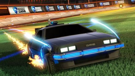 Rocket League - Retour Vers le Futur