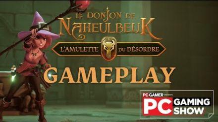 Vidéo : Le Donjon de Naheulbeuk L'Amulette du Désordre : Gameplay du PC Gaming Show