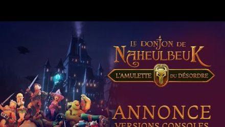 Vidéo : Le Donjon de Naheulbeuk: L'Amulette du Désordre : Bande-annonce des versions consoles
