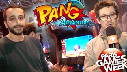 Vid�o : Paris Games Week 2015 : interview Pang Adventures