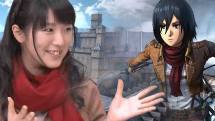 Attack on Titan : gameplay avec la doubleuse de Mikasa
