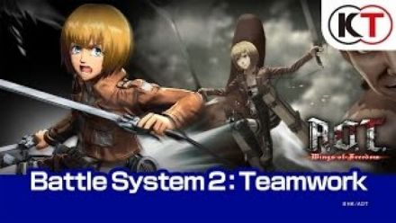 vidéo : Attack on Titan : Wings of Freedom - Système de combat (Partie 2, Teamplay)