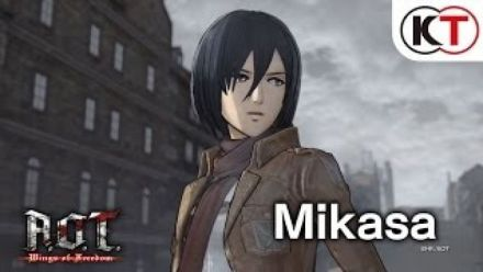 Attack on Titan : Wings of Freedom - Mikasa's Showcase