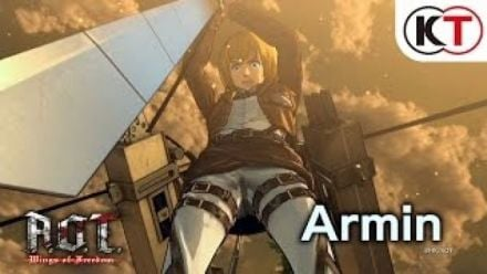 vidéo : Attack on Titan : Wings of Freedom - Armin's Showcase