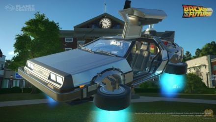 Vid�o : Retour vers le Futur kit - Planet Coaster