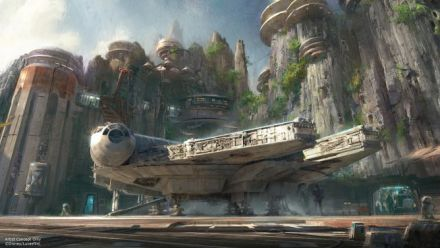 Vid�o : Star Wars - Attraction planet coaster