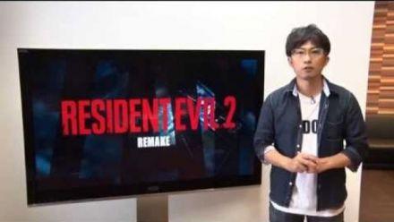 Vid�o : Resident Evil 2 : Le remake officialisé avec une première vidéo