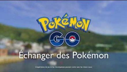 Vidéo : Pokémon GO - Échanger des Pokémon