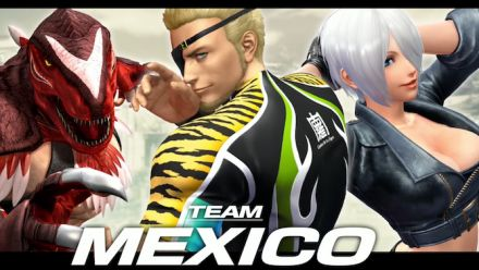 "Vid�o : The King of Fighters XIV : Présentation de la Team ""Mexico"""
