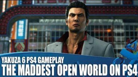 Vid�o : Yakuza 6 : 15 minutes de gameplay PlayStation Access