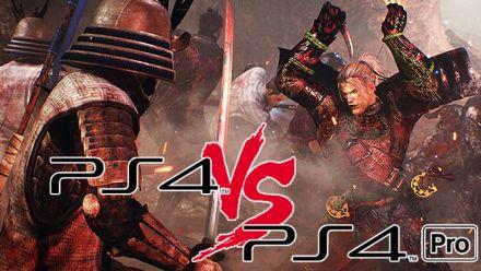 Nioh : Comparatif des versions PS4 et PS4 Pro