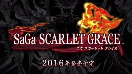 Vid�o : SaGa : Scarlet Grace annoncé au TGS 2015