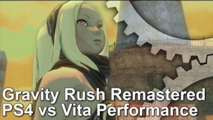 Vid�o : Gravity Rush comparaison graphique