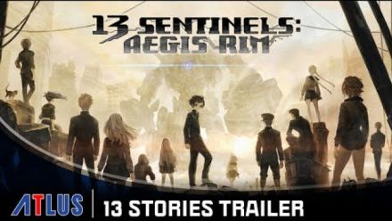 13 Sentinels: Aegis Rim - 13 Stories Trailer | PlayStation 4