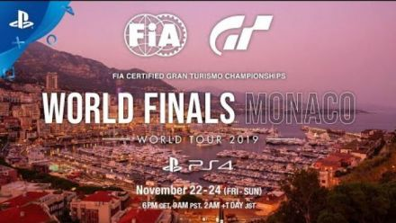 vidéo : GT Sport | World Tour 2019 - World Finals Monaco - 22 au 24 novembre | PS4