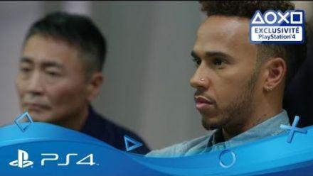 Vid�o : GT Sport : Lewis Hamilton et Kazunori Yamauchi