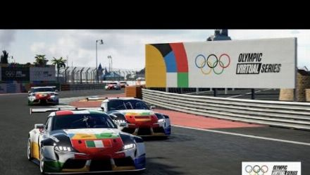 vid�o : The Olympic Virtual Series Motor Sport Event