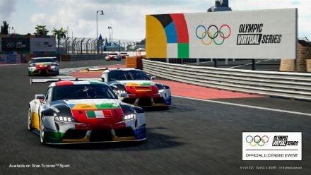 vid�o : GT Sport : L'Olympic Virtual Series Motor Sport Event (REPLAY)