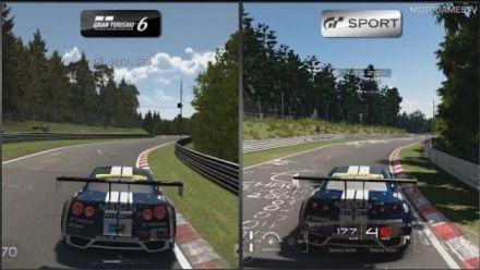 Gran Turismo Sport : Le Comparatif avec GT6