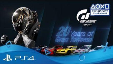 Vid�o : Gran Turismo : 20 ans de GT en vidéo