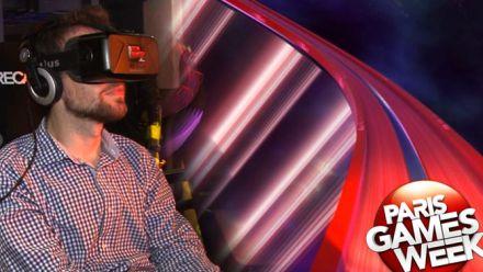 Vid�o : Roller Blaster VR : Impressions depuis la PGW 2015