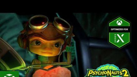 Vid�o : Psychonauts 2 - Gameplay Music Trailer
