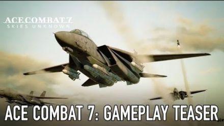 Ace Combat 7 s'envoie en l'air avec une vidéo teaser de gameplay