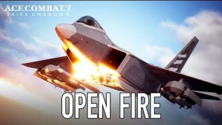 Ace Combat 7 : Trailer de lancement Open Fire