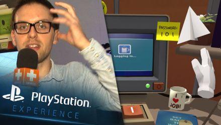 Vid�o : Job Simulator : Impressions PS Experience 2015