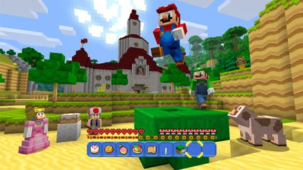 Vid�o : Minecraft : Super Mario Mash Up Pack