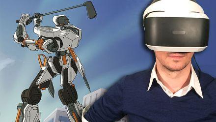 100ft Robot Golf : Notre TEST Vidéo du jeu de golf avec des Mechas