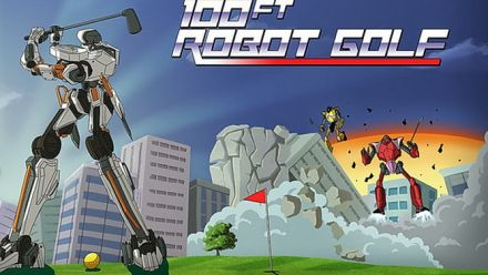 Vid�o : PlayStation Experience 2015: 100ft Robot Golf - Announce Trailer