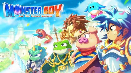 Vid�o : REPLAY. Découverte de Monster Boy and the Cursed Kingdom