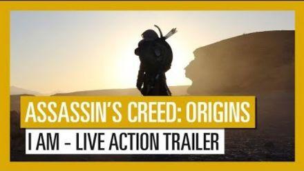 """Vid�o : Assassin's Creed Origins : Un trailer """"live action"""" pour vous faire saliver"""