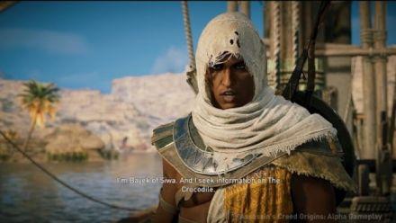 Vid�o : Assassin's Creed Origins : IGN E3 2017 gameplay