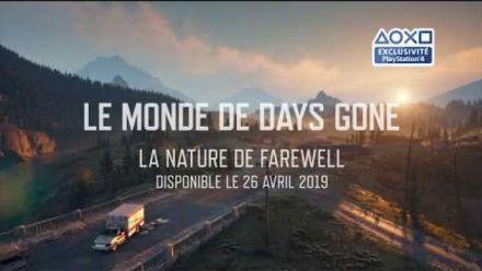 vidéo : Days Gone - Découverte de la nature de Farewell