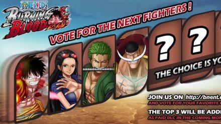 Vid�o : One Piece Burning Blood : Votez pour les trois prochains personnages à venir en DLC