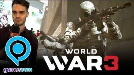 Vid�o : Gamescom : impressions sur World War 3