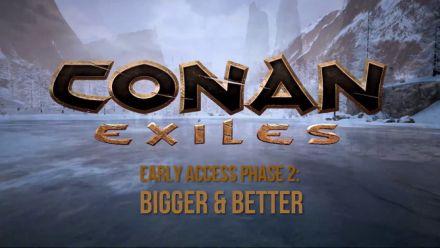Vid�o : Conan Exiles : Trailer de la phase 2 de l'Early Access