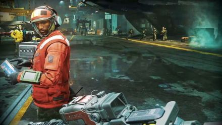 Call of Duty Infinite Warfare : Visite du UNSA Retribution