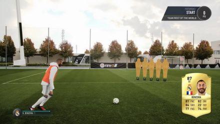 Vid�o : Des joueurs du Real Madrid tirent des coups-francs façon FIFA 17