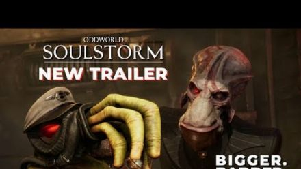 Vid�o : Oddworld: Soulstorm NEW TRAILER Bigger, Badder, Bolder (PS5)