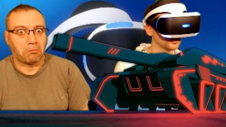 Vid�o : PlayStation VR : Nos sensations sur Battlezone et Tumble VR