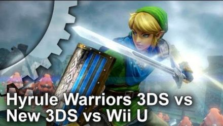 Hyrule Warriors New 3DS/3DS/Wii U - Comparaison framerate