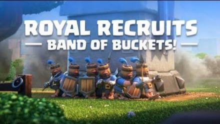 Vidéo : Clash Royale: Introducing Royal Recruits! (New Card!)