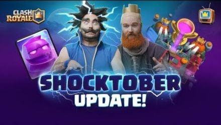 Vidéo : Clash Royale ? SEASON 4: SHOCKTOBER ? TV Royale Halloween Update