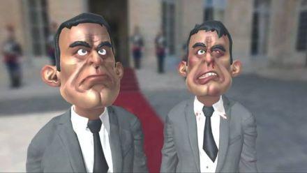 Vidéo : Je t'offre une Valls : claquez Manuel Valls en réalité virtuelle + Leap Motion