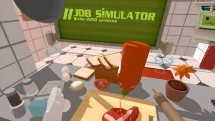 Vid�o : Job Simulator Réalité Virtuelle au boulot