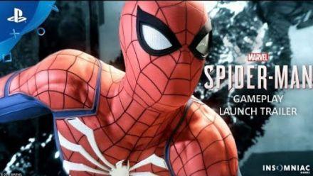 Spider-Man PS4 : Gameplay launch trailer